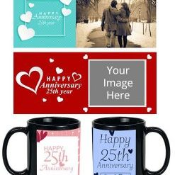 Personalized Anniversary Mugs