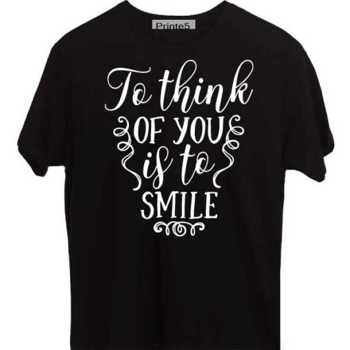 Black-Valentine-Day-Couple-T-Shirt-Think-of-you-is-to-smile