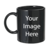 Customize Black Mugs