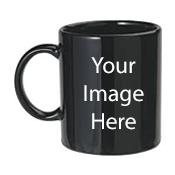 Customize Black Mugs