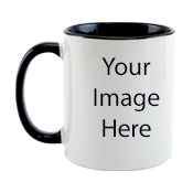 Customize Black n White Mugs