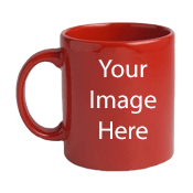 Customize Red Mugs