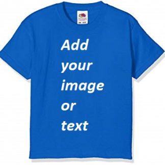 Customize your kid's birthday t shirt Blue-PI