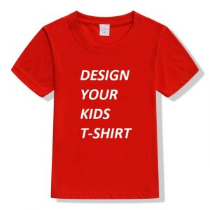 Red Kids Birthday T-Shirts