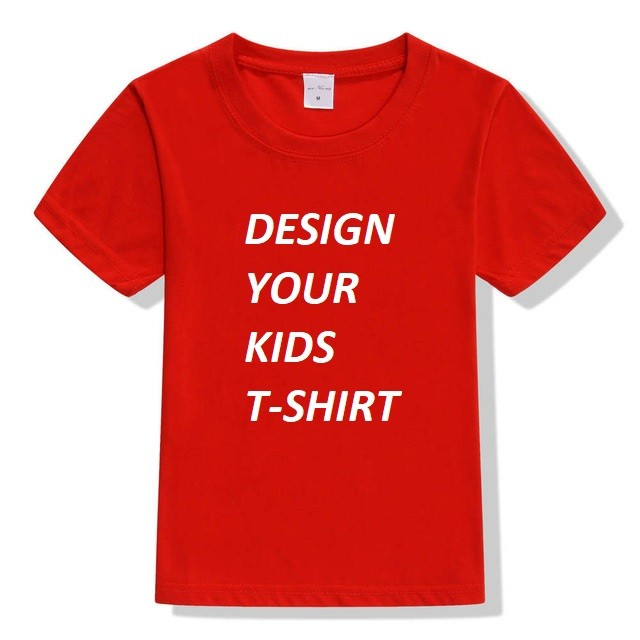 Customize your kid's birthday t shirt red-pi