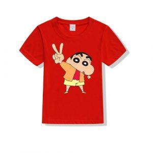 Printe5 Shin Chan No 2 Shin Chan No 2 Kid's T Shirts