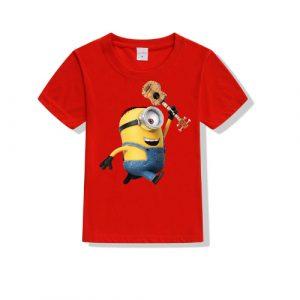 Printe5 Minion Kid's T Shirts Minion