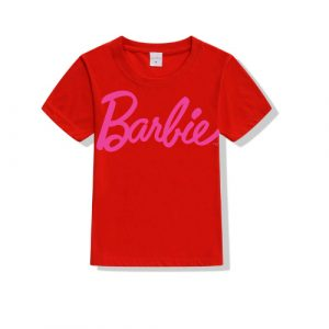 Printe5 Barbie Kid's T Shirts Barbie
