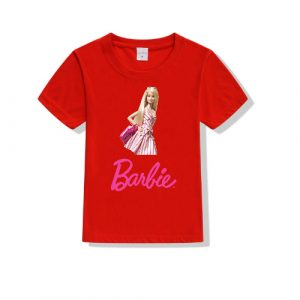 Printe5 Barbie Photo Kid's T Shirts Barbie Photo