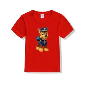 Printe5 Standing Chase Paw Patrol Kid's T Shirts