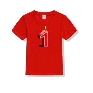 Printe5 My 1st Birthday Printed T-Shirt Kid's T Shirts