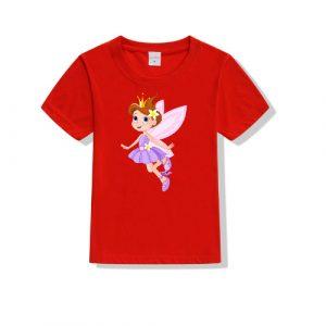Printe5 Angel Printed Kid's T Shirts Angel Printed