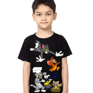 Printe5 Tom And Jerry Kid's T Shirts
