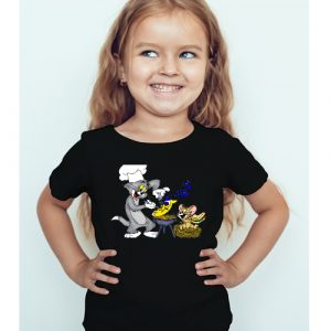 Printe5 Tom And Jerry Cooking T Shirts