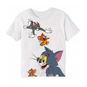 Printe5 Tom And Jerry 2 Kid's T Shirts