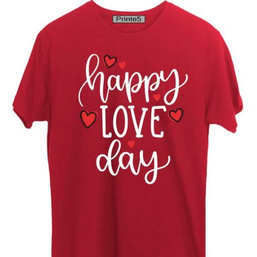 Red-Valentine-Day-Couple-T-Shirt-Happy-Love-Day