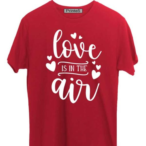 Red-Valentine-Day-Couple-T-Shirt-Love-is-in-the-air