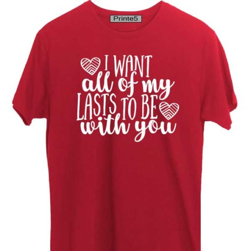Red-Valentine-Day-Couple-T-Shirt-Want-to-be-with-you