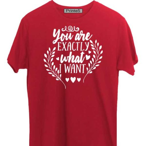 Red-Valentine-Day-Couple-T-Shirt-You-are-exactly-what-I-wanted