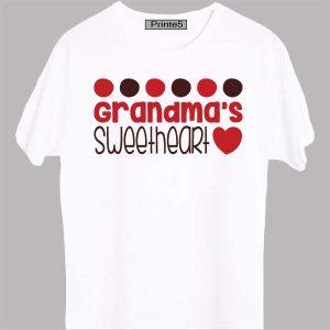 White-T-Shirt-Grandma-Sweet-Daughter