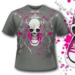 107 Shoe Skull Apparel