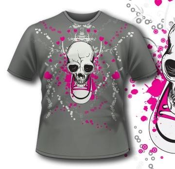 107 Shoe Skull Apparel