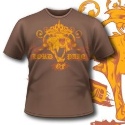 133 Lion Skull T-Shirt