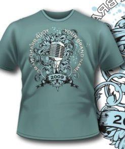 135 Old Microphone Tee