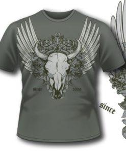 168 Bull Skull