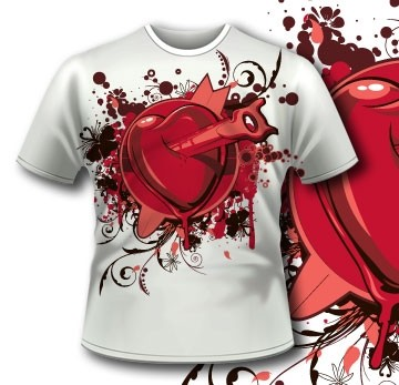 Broken Heat T Shirt 53_1  Tm0550