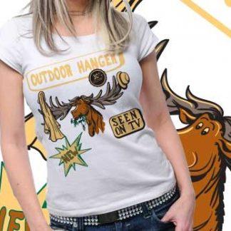 Deer Vector  Plus Printed Tshirt 58 Tm0563
