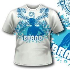 Dj Flames Music T-Shirt 5 Tm1045