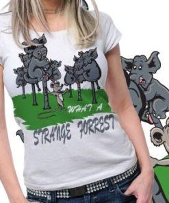 Elephant Printed Tshirt Plus 45  Tm1049