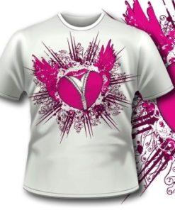 Flying Heart T-Shirt 48 Tm1060