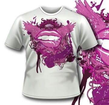 Flying Mouth Tee 46 Tm1061