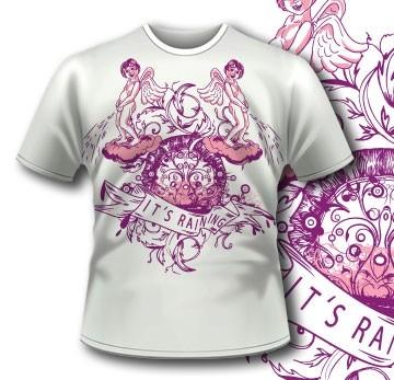 Funny Angel Valentine Apparel T-Shirt 3 Tm1065