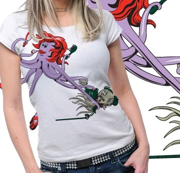Funny  Printed Tshirt Plus 38 Tm1064