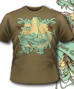 Lady Angel Tshirt 79 Tm1069