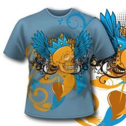 Royal Skull T-Shirt 73 Tm1085