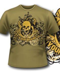 Skull Tshirt 4  Tm1097