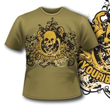 Skull Tshirt 4 Tm1098