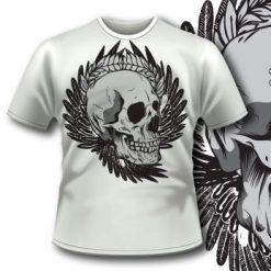 Smily Skull T-Shirt 69  Tm1103