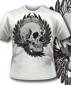 Smily Skull T-Shirt 69  Tm1103