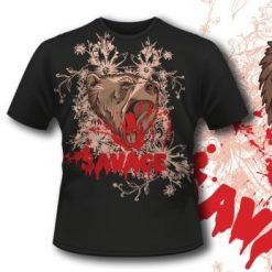 Printe5 T Shirt 290 Raging Bear  Tm0606