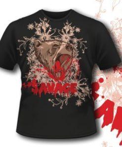 Printe5 T Shirt 290 Raging Bear Tm0607