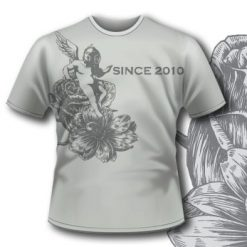 Printe5 T Shirt 294 Flowers Dark Seraphim Tm0608