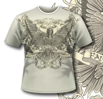 Printe5 T Shirt 296 Death Seraphim Tm0610