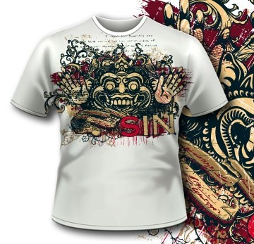 Printe5 Printed Tshirt