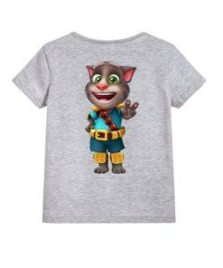 Talking Tom Jewel Kid's Printed T Shirt