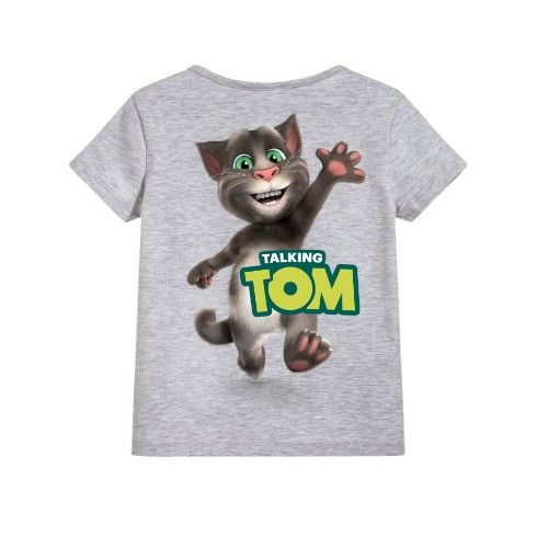 Hi Talking Tom Kid's Printed T Shirt